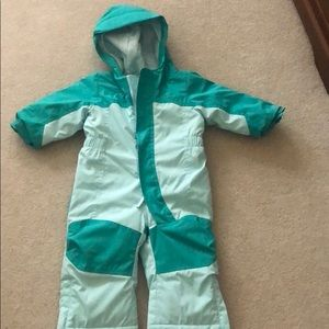LL Bean infant cold buster snowsuit
